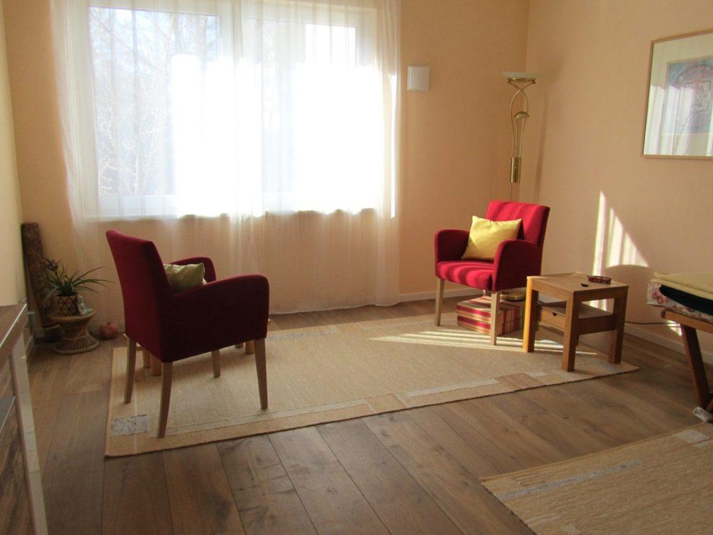 Integrative Gestalttherapie in Berlin-Schöneberg, Praxisraum